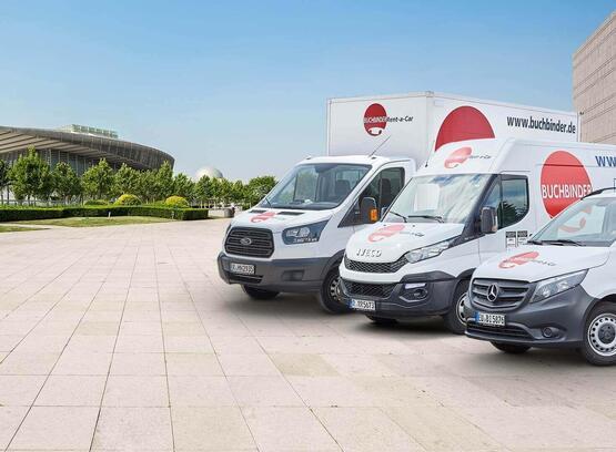 Autovermietung Buchbinder: Transporter, Auto & LKW mieten ...
