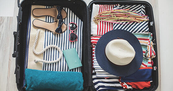Packing list for the vacation