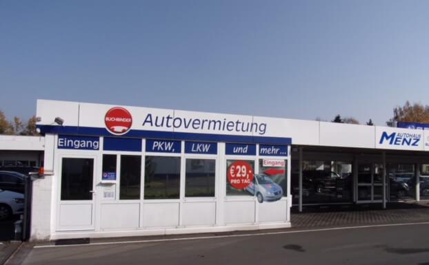 Autovermietung Gießen Mietwagen Transporter Buchbinder